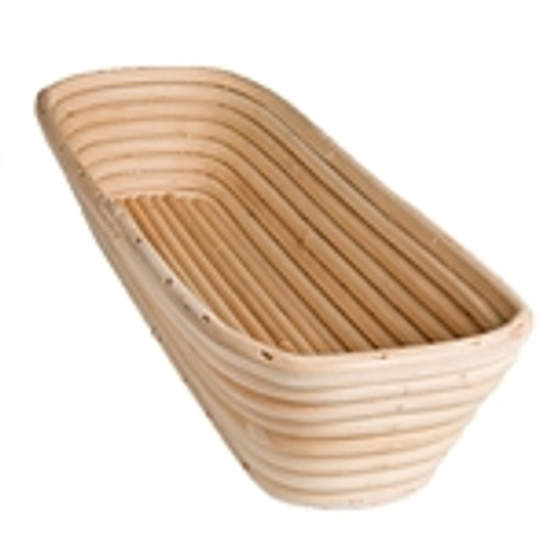 "Banneton Proofing Basket, Rectangular, 12"" x 5½"