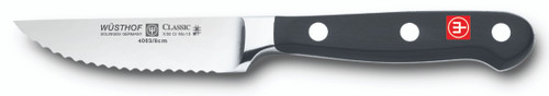 Wusthof Trident Serrated Paring Knife 3in