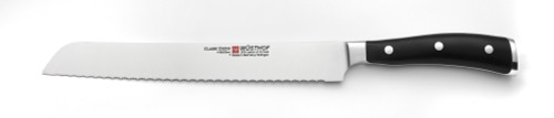 Wusthof Trident Double Serrated Bread Knife 9in