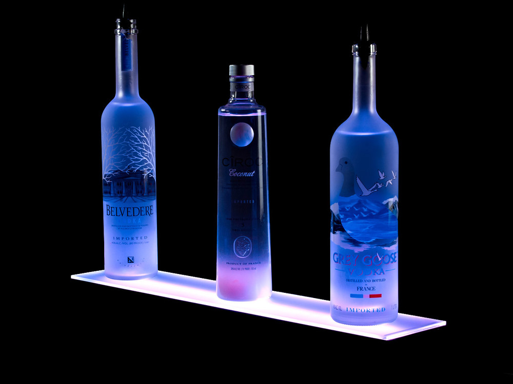 1 Tier LED Bar Shelf