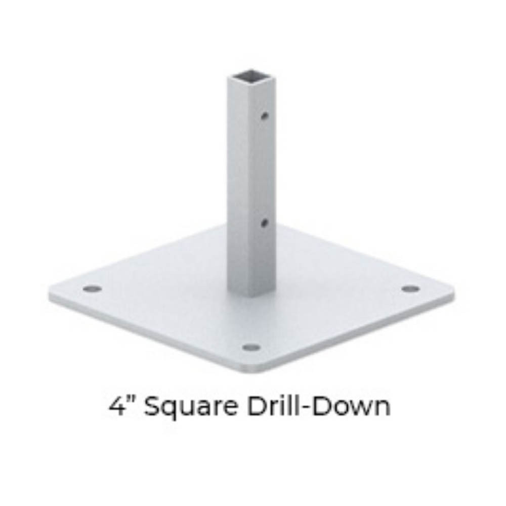 Square  Metal Stand