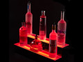 2 Tier LED Liquor Shelf Display