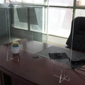 Countertop Acrylic Sneeze Guard Barrier