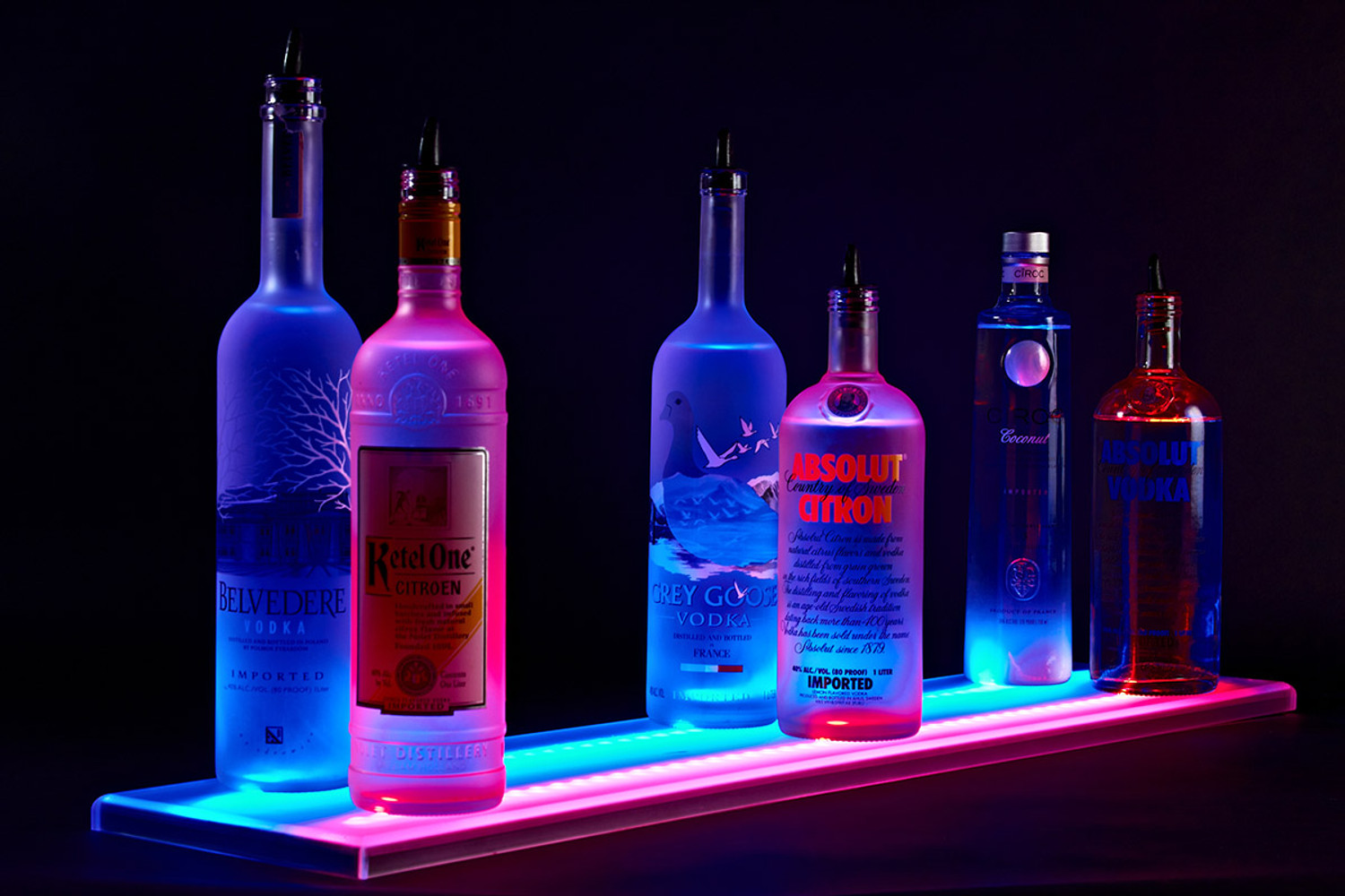 Sync Your Favorite Music to Our LED Bar Shelves with WiFi