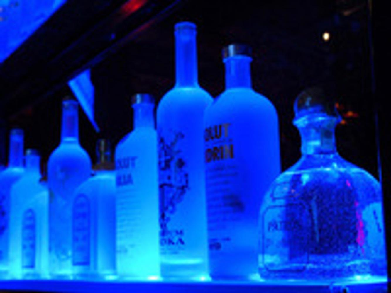 Building Lighted Liquor Bottle Shelves for Your Home, Restaurant or Bar