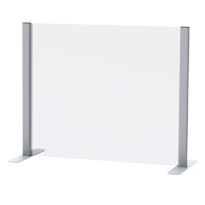 Acrylic Sneeze Guard with Stand