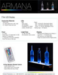 1 Tier LED Display Spec Sheet