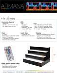 4 Tier LED Display Spec Sheet