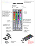 44 Key Remote Control Manual