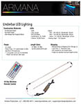 Under Bar Lighting Spec Sheet