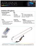 Under Bar Lighting Spec Sheet