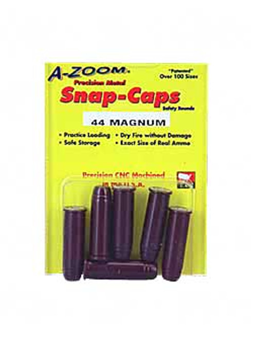 A-Zoom Snap Caps, 44 Magnum, 6 Pack 16120
