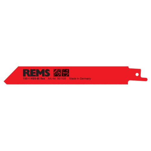 "REMS 561105 - 6"" Red Sheet Metal Saw Blade 150-1 (5 Pack)"