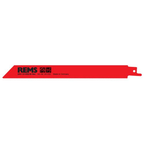 "REMS 561106 - 8"" Red Sheet Metal Saw Blade 200-1 (5 Pack)"