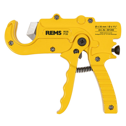 """REMS 291200 - ROS P 35 Ratcheting Plastic Pipe Cutter (0""""-1-3/8"""")"""