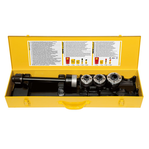 """REMS 520056 - Extended Reach Quick-Change Die Head S Set (1/2""""-1"""")"""