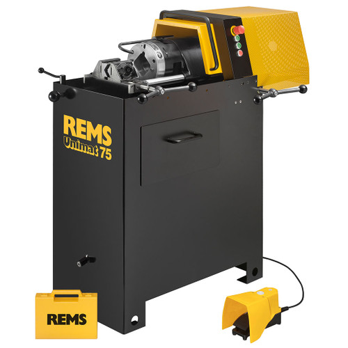"REMS 750003 - Unimat 75 Basic mS Manual Clamp Threader (1/16""-2-1/2"")"