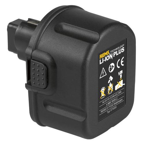 REMS 571555 - 14.4 V Li-Ion Battery (3.0 Ah)