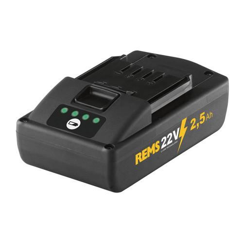 REMS 571571 - 22 V Li-Ion Battery (2.5 Ah)