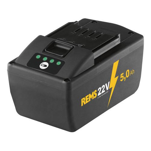 REMS 571581 - 22 V Li-Ion Battery (5.0 Ah)