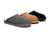 UGG Sheepskin Slippers  Men's  Ultra Comfy  Bred Scuffs