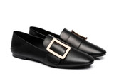 AS UGG Sally  Flats Square Buckle Loafers