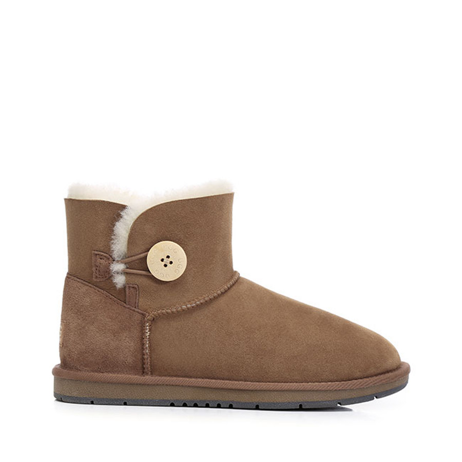 Australian Shepherd Mini Button Water Resistant UGG Boots