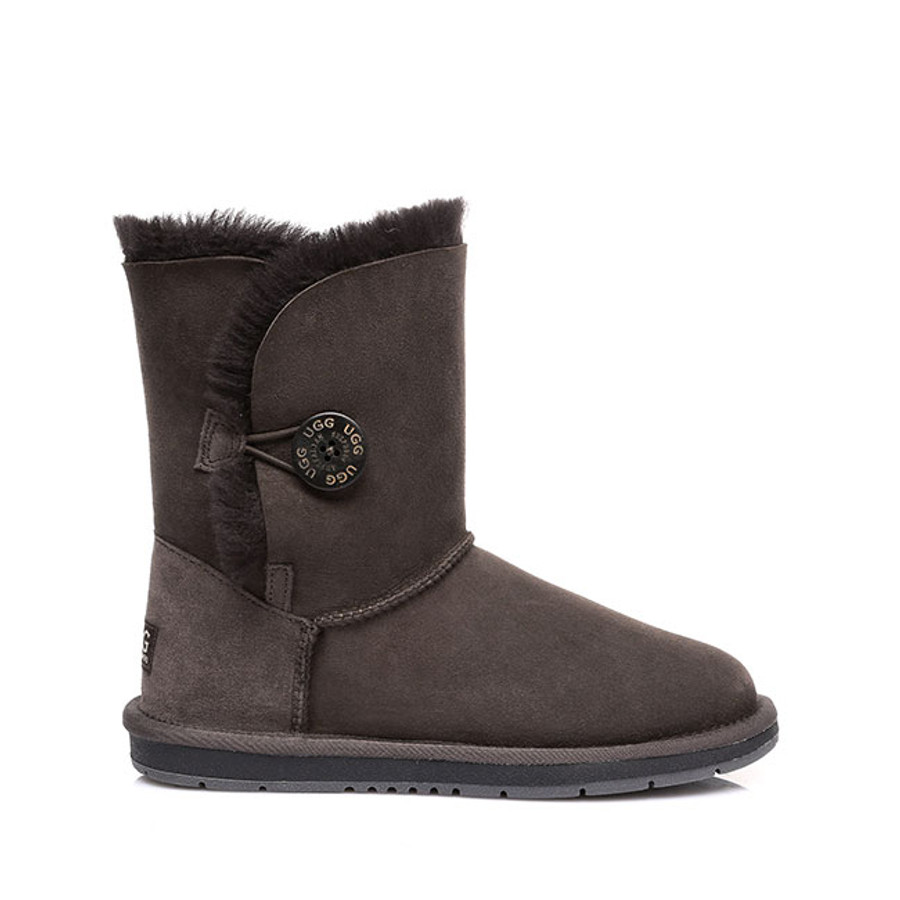 Australian Shepherd Short Button Water Resistant UGG Boots