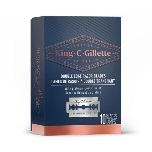 King C. Gillette Safety Razor Blades (10 Count)