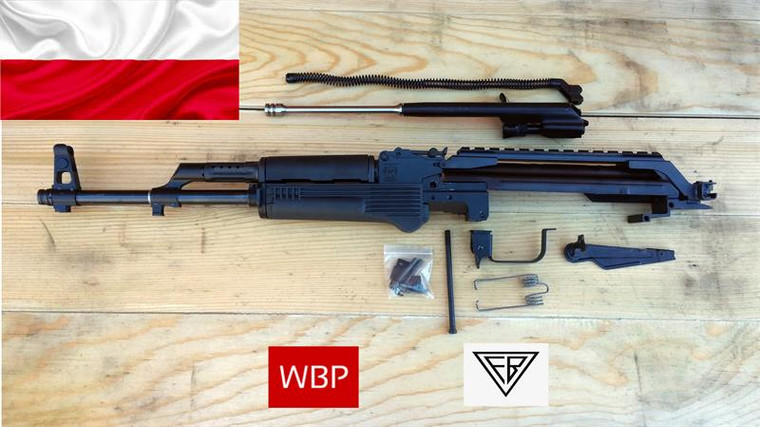 WBP Fox Parts Kit - 7.62x39 W/ Polish Beryl Rail - *HEAD SPACED*