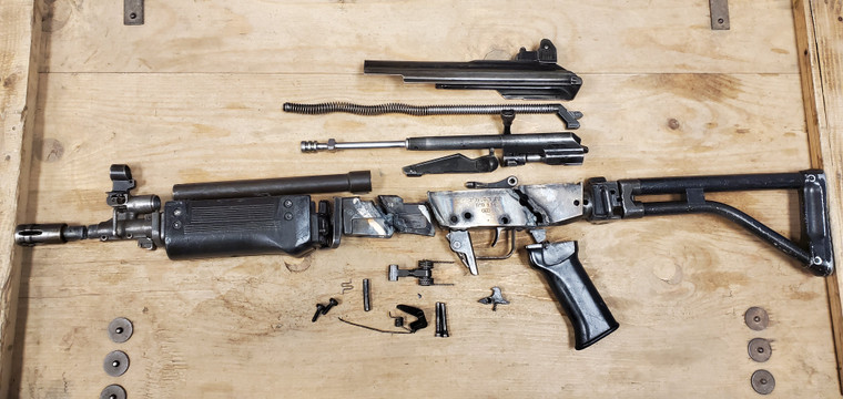 Galil .223 SAR Parts Kit with Poly Hand Guard, Good to Very Good Condition