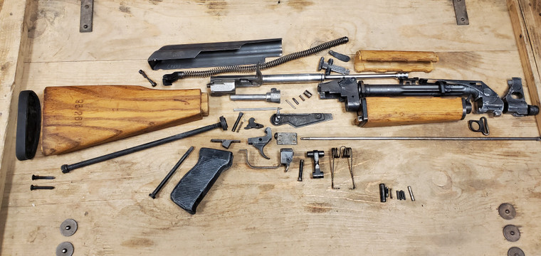 Yugoslavian M70 AK47 PARTS KIT FIXED STOCK Kit *Milled* LOW INVENTORY REMAINING