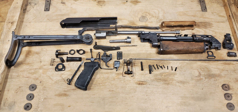 Yugoslavian M70 AK47 PARTS KIT UNDERFOLDER STOCK Kit *Milled*