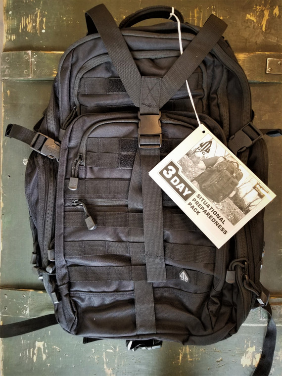 UTG® 3-Day Situational Preparedness Pack, Black