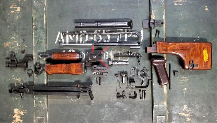 Romanian Mod64 RPK - AK47 Parts Kit - No Barrel