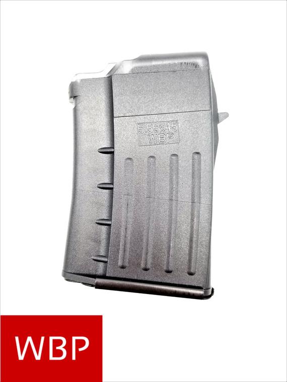 *Factory 10rd* WBP- 5.56/223 - Poly AK Mag