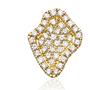 Geode Inspired Pave Diamond Mini Studs