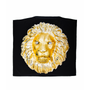 Lion Printed Silk Caftan