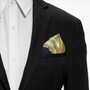 Lion Printed Pocket Square
