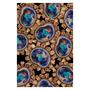 Opal Earring Printed Silk Sarong