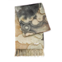 Lace Agate Printed Cashmere Throw