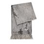 Microstalactite Printed Cashmere Throw