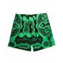 Malachite Printed Swim Trunks