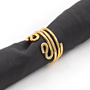 Napkin Ring Fashioned after Ancient Black Coral