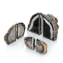 Agate Bookends – Large