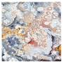 Custom Hand-Tufted Carpet in Lace Agate Print Print