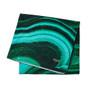 Malachite Printed Beach Towel