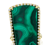 Malachite and Diamond Ring