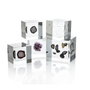 Lucite Cube with Embedded Geode