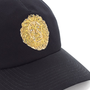 Baseball Cap with Embroidered Lion